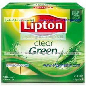أكياس الشاي الهرمية التى نقدمها نحن شركة المهندس منسى ام توباك