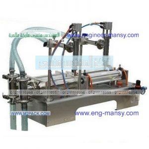 تصنيع ماكينات تعبئة سوائل من شركة المهندس منسى